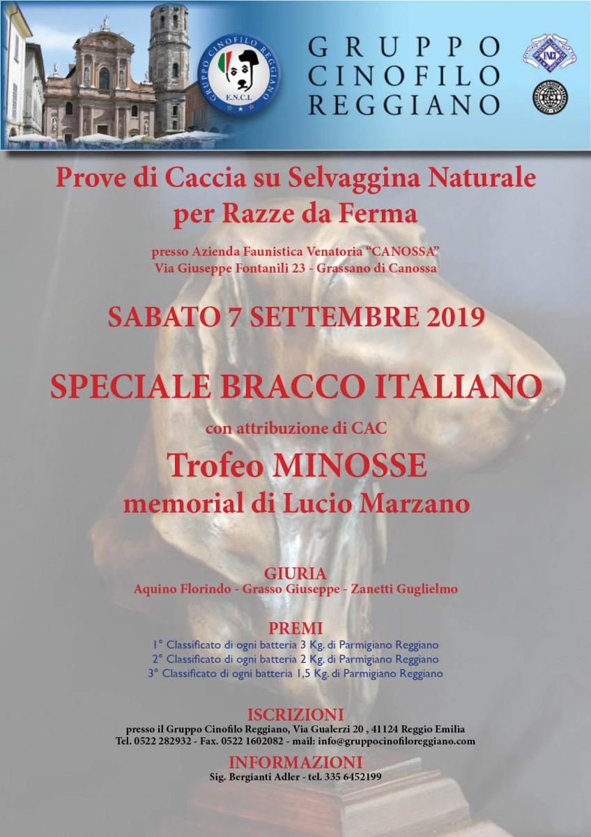 Enci Calendario Prove.Gruppo Cinofilo Reggiano